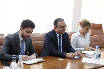 Economic Development Minister meets Arton Capital company's representatives