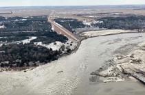 Экономический ущерб от наводнения в Небраске достиг $1,4 миллиарда
