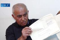 Արարատի մարզի Այնթափ գյուղի բնակիչը 3 տարի է՝ փորձում է վերականգնել սեփականության իր իրավունքը (Տեսանյութ)