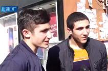 Երևանցիների արձագանքը՝ Քաղաքացու օրը նշելու նախաձեռնությանը (Տեսանյութ)