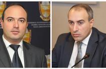 Артур Ованнисян и Сурен Крмоян освобождены от должности заместителя министра юстиции