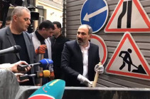 Armenian PM participates in cleanup works