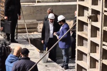 В Ереване прошла церемония закладки фундамента здания театра «Амазгаин» имени Соса Саркисяна