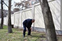 Նախագահը համապետական շաբաթօրյակին մասնակցում է թոռնիկների հետ (լուսանկարներ)