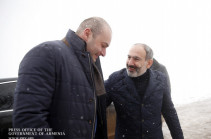 Armenian, Georgian PMs hold informal meeting in Armenia's Yenokavan