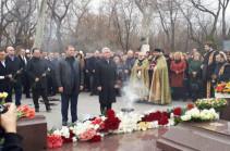 Экс-президент Армении Серж Саргсян почтил память Андраника Маргаряна