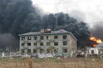 Число жертв взрыва на химзаводе в Китае достигло 78