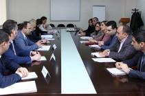 ԿԳ նախարարի տեղակալն ընդունել է եվրոպական կենտրոնի փորձագետներին