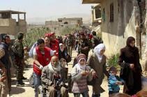 В Сирию за сутки вернулись более 600 беженцев из Иордании и Ливана