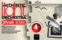 Երևանում հանդես կգա հայտնի Authentic Light Orchestra խումբը` Հայկական Էսքիզներ» ծրագրով