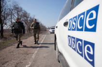 OSCE Monitors Line of Contact between Armed Forces of Artsakh and Azerbaijan