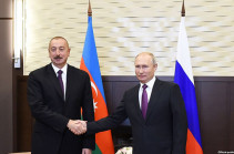 Russia's Putin stresses importance of activation of Karabakh talks in phone conversation with Aliyev