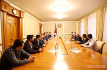 Bako Sahakyan receives members of Republican Party of Armenia