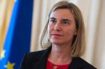 Contacts between Baku and Yerevan give hope for progress in Karabakh conflict settlement:  Federica Mogherini