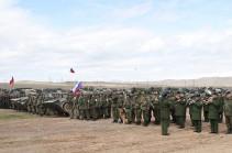 Հայ-ռուսական միացյալ զորախումբը գումարտակային լայնածավալ զորավարժություն է անցկացնում