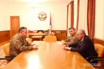 Artsakh President receives head of the General Staff of Armenian Armed Forces