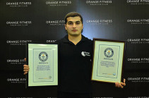 Athlete Manvel Mamoyan claims Guinness's absolute record