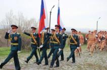 Военнослужащие ЮВО и Минобороны Армении начали подготовку к военному параду в честь 74-ой годовщины Дня Победы