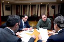 Դավիթ Տոնոյանը ՄԱԿ-ի ներկայացուցչի հետ քննարկել է փոխադարձ հետաքրքրություն ներկայացնող հարցեր