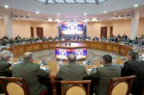 ՊԲ հրամկազմի ներկայացուցիչների մասնակցությամբ կայացել է պաշտպանության նախարարին կից կոլեգիայի նիստ