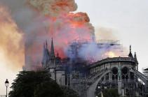 Parisien. Նոտր Դամի վերականգնման համար նվիրատվության գումարը հասնում է 1 մլրդ եվրոյի