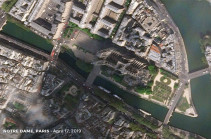 Հրդեհից ավերված Նոտր Դամը ցուցադրել են տիեզերքից. Լուսանկարներ