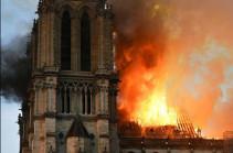 Վեոլիա Ջրի տնօրինությունը 10 հազար եվրո կհատկացնի Փարիզի Աստվածամոր տաճարի վերականգնմանը