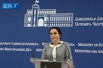 Armenia, Azerbaijan do not conduct negotiations over any program: spokesperson