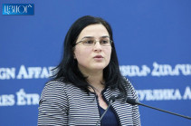 Next meeting of Armenian, Azerbaijani FMs may pass in one of OSCE Minsk Group co-chairing countries: Anna Naghdalyan