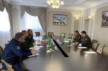 ՀՀ զինված ուժերի գլխավոր շտաբի պետը հանդիպել է ՌԴ Հարավային ռազմական շրջանի հրամանատարի հետ