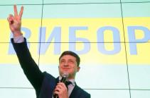 Премьер Армении Пашинян поздравил Владимира Зеленского с победой на выборах президента Украины