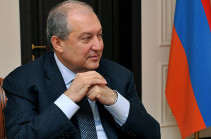 Նախագահ Արմեն Սարգսյանը շնորհավորել է Ուկրաինայի նորընտիր նախագահ Վլադիմիր Զելենսկիին