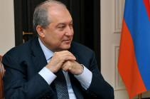 Президент Армении поздравил Владимира Зеленского с избранием на пост президента Украины