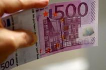 Գերմանիան և Ավստրիան 500 եվրո թղթադրամների թողարկումը դադարեցնում են