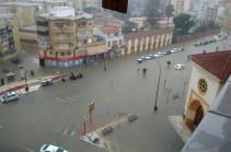 На восточное побережье Испании обрушились проливные дожди
