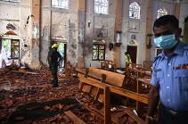 Жители Шри-Ланки почтили память жертв терактов тремя минутами молчания