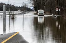 Более 2,5 тыс. домов повреждены в двух регионах Канады из-за паводка