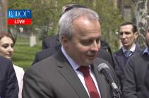 Armenian-Russian relations firm, addressed to future: Russian ambassador