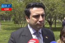 No country should interfere into Armenia's domestic affairs: Alen Simonyan on Russia's support to Kocharyan