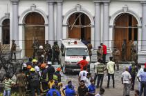 «Իսլամական պետությունը» ստանձնել է Շրի Լանկայում տեղի ունեցած պայթյունների պատասխանատվությունը