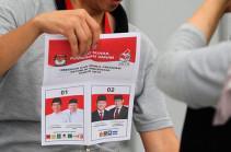 В Индонезии во время подсчета голосов на выборах умерли более 50 человек