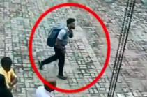 Возможный исполнитель теракта на Шри-Ланке попал на видео перед взрывом
