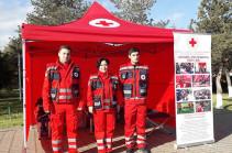Ծիծեռնակաբերդի հուշահամալիրի տարածքում կգործի Հայկական Կարմիր խաչի ընկերության Առաջին օգնության տաղավարը