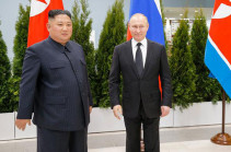 Vladimir Putin and Kim Jong-un meet in Vladivostok