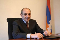Triple holiday unites all generations of our people, consolidates the whole Armenian nation all over the world: Bako Sahakyan