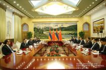 Շարունակվում է վարչապետի այցը ՉԺՀ. Նիկոլ Փաշինյանը Լի Քեցյանի հետ քննարկել է երկկողմ տնտեսական կապերի զարգացման հեռանկարները