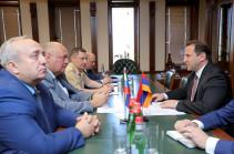 ՀՀ պաշտպանության նախարարն ընդունել է Ռուսաստանի Դաշնային ժողովի պատվիրակությանը