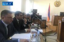 ՀՀ գլխավոր դատախազը ներկա է Քոչարյանի գործով դատական նիստին