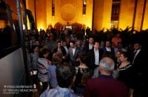 Երևանաբնակ զինծառայողների ծնողները մեկնեցին սահմանապահ զորամասեր՝ տեսակցության