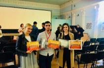 Մոլդովայում տեղի ունեցած միջազգային փառատոնից հայ երիտասարդ կինոռեժիսորները 4 մրցանակով են վերադարձել